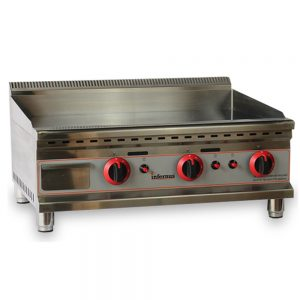 counter top gas griddle 750mm