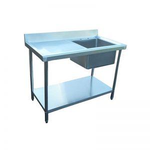 Infernus Stainless Steel Kitchen Sink 1000mm Left Hand Drainer