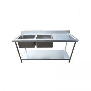 Infernus Stainless Steel Kitchen Sink 1800mm Right Hand Drainer