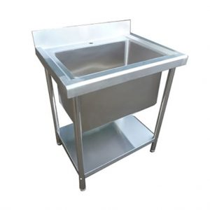 Infernus Stainless Steel Single Bowl Deep Pot