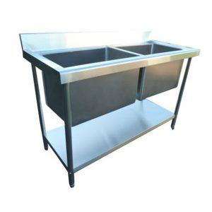 Infernus Stainless Steel Kitchen Sink Double Bowl Deep Wash Pot